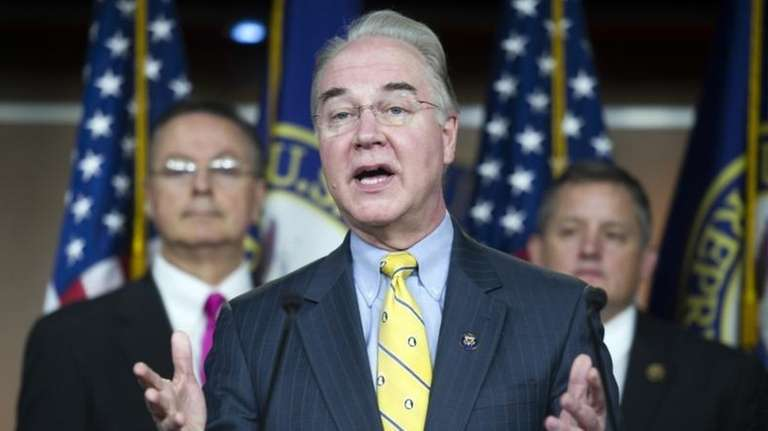 Rep. Tom Price, R-Ga. speaks on Capitol Hill