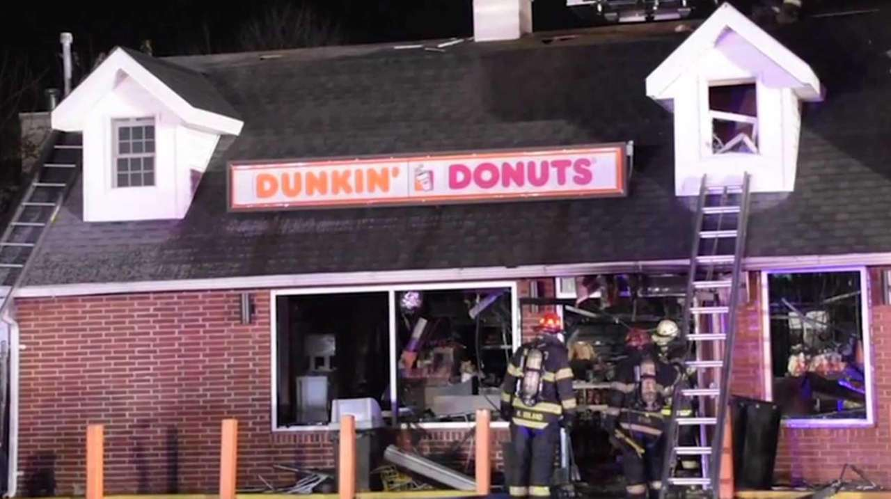 The North Bellmore Fire Department responds to a