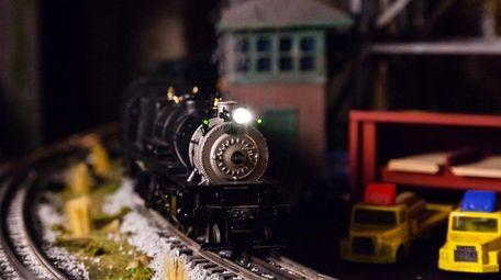 A Mikado steam model train locomotive is one