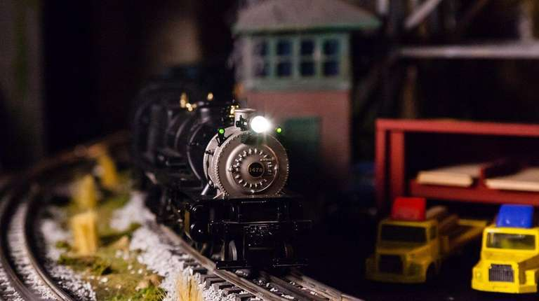 A Mikado steam model train locomotive is one