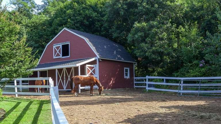 This Riverhead property with a barn is listed