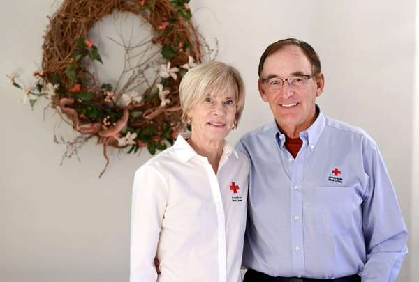 Janet and Chuck Boehme at their Spokane Valley
