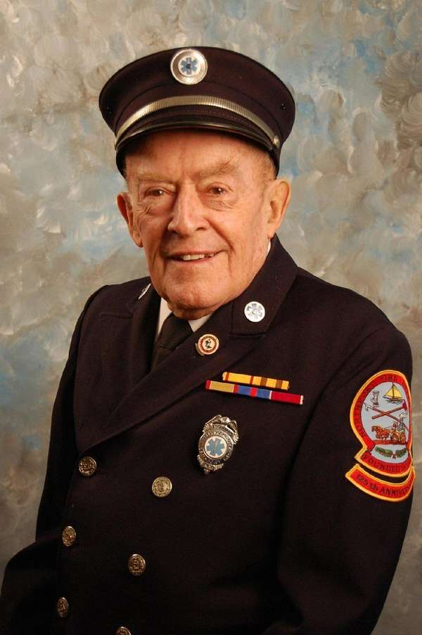 James Mahoney, a longtime educator and volunteer firefighter