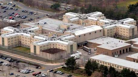 An aerial view of the Nassau County Jail