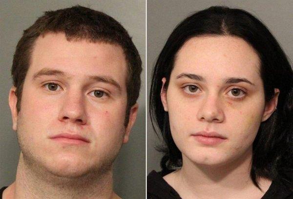 Nicholas Laurenti, 20, and Lauren Morales, 28,