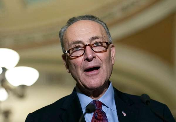 Sen. Chuck Schumer, the incoming Senate majority leader