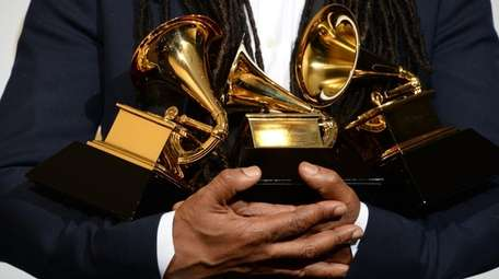 The Grammy Award nominations will be announced Tuesday,
