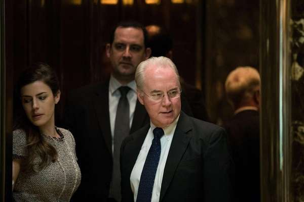 Donald Trump has tapped Rep. Tom Price to