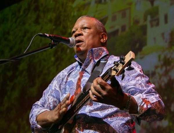 South African musician Bakithi Kumalo, who plays bass