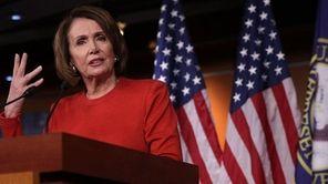 California Rep. Nancy Pelosi was re-elected to an