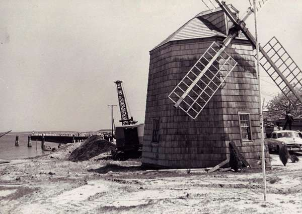 The Sag Harbor windmill in 1967.