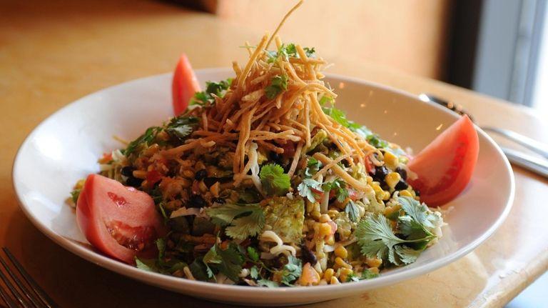 A Santa Fe salad, a Chinese chicken salad