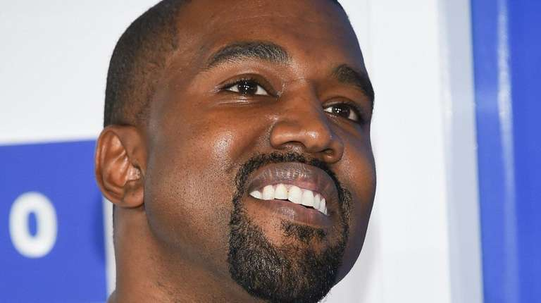 Kanye West, seen at August's MTV Awards in