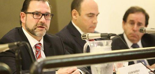 Adam Barsky, chairman of the Nassau Interim Finance