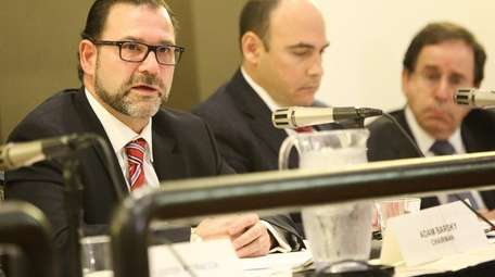 Adam Barsky, chairman of the Nassau Interim Finance