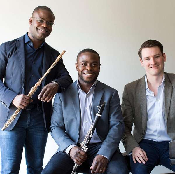 The McGill/McHale Trio -- brothers Demarre, left, and