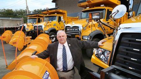 Town of Huntington Highway Superintendent Pete Gunther, seen