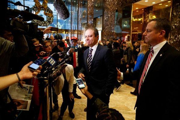 U.S. Attorney Preet Bharara met with President-elect Donald