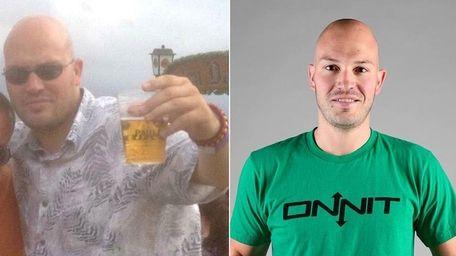Frank Schlegel, 31, of Remsenburg, is pictured in