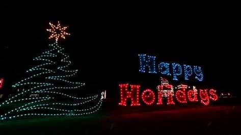 after a 7 year absence the holiday light spectacular