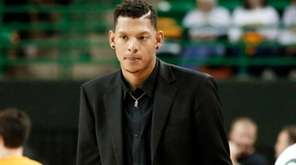 Former Baylor standout Isaiah Austin, shown here