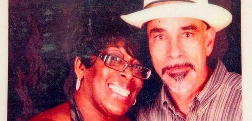 Family photo of Sharon Long and John Jones