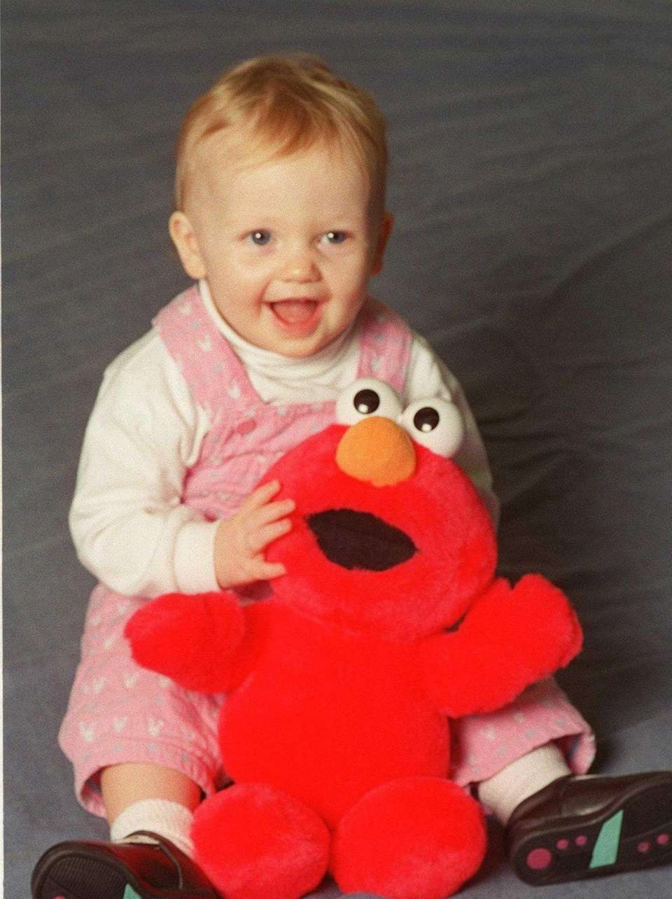 Tyco's Tickle Me Elmo, a stuffed animal with