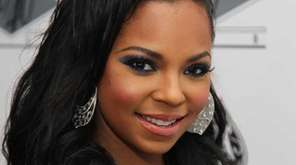 Ashanti performed at a party celebrating