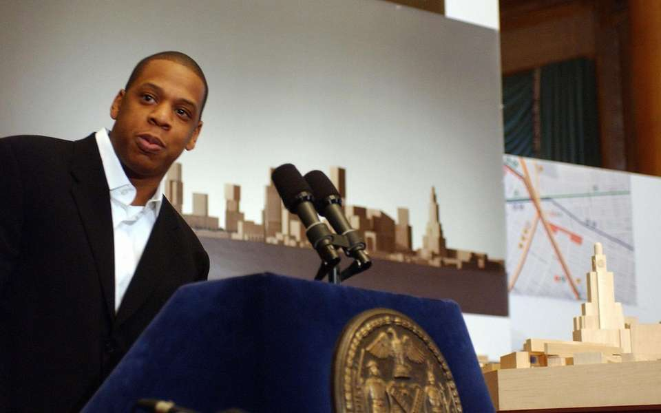 Rap artist Jay Z joined architect Frank Gehry,