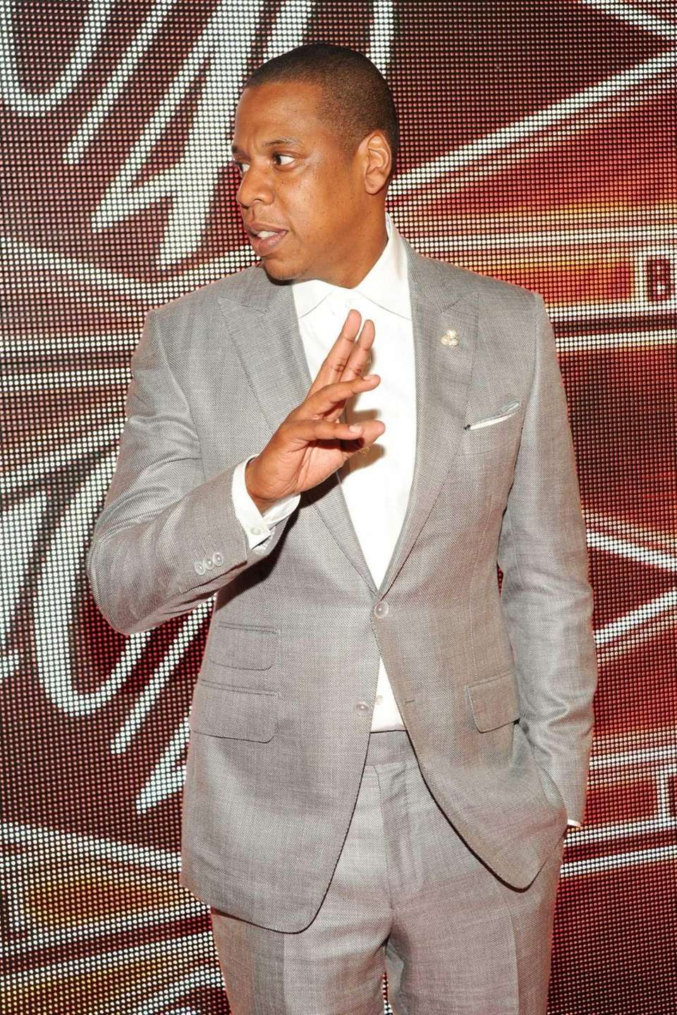 Jay Z attends The 40/40 Club 10 Year