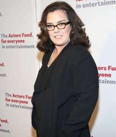 Rosie O'Donnell, above at a Manhattan event in
