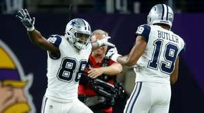 Dallas Cowboys wide receiver Dez Bryant (88) celebrates