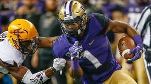 Wide receiver John Ross of the Washington Huskies
