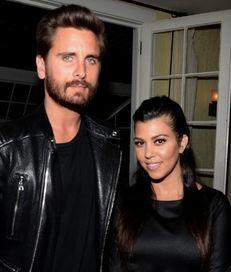 Scott Disick and Kourtney Kardashian attend Opening Ceremony