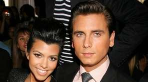 Reality TV stars Kourtney Kardashian and Scott Disick