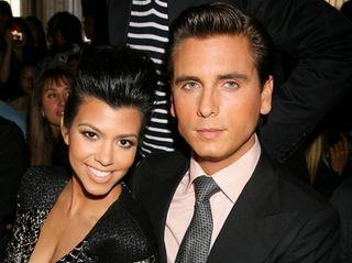 Reality TV stars Kourtney Kardashian and Scott Disick