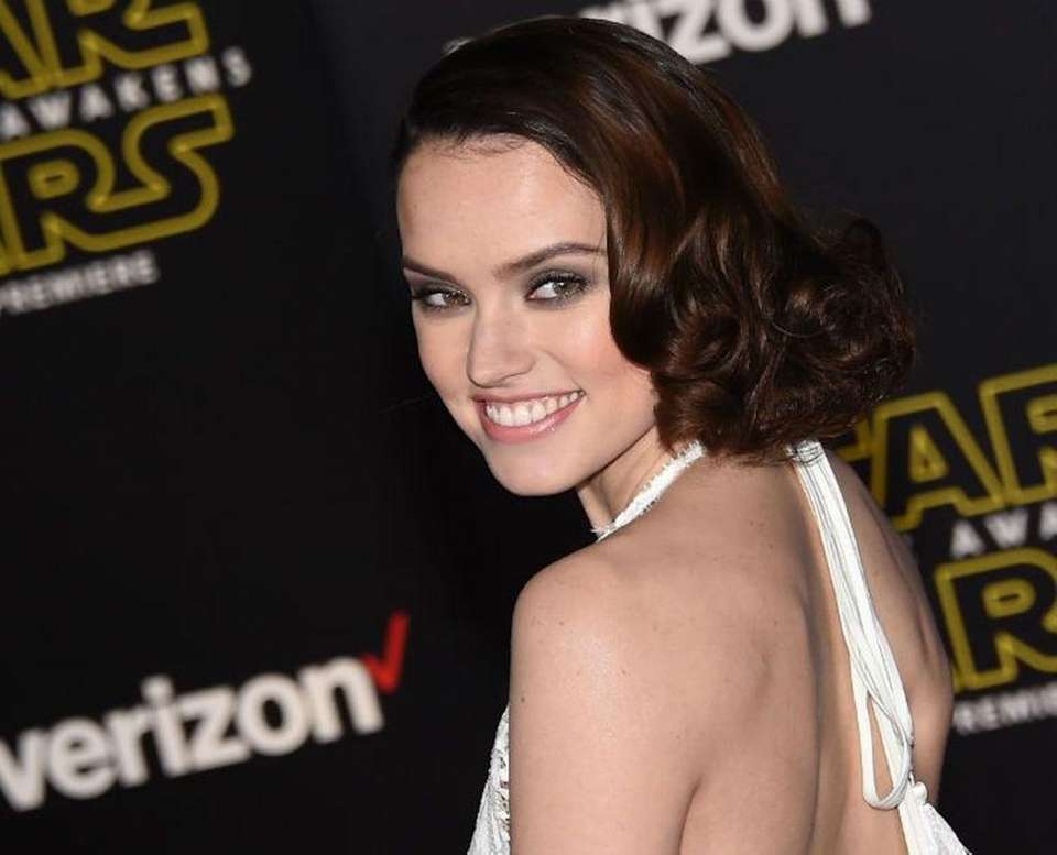 Daisy Ridley, the star of