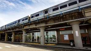 MTA chairman Thomas Prendergast announced LIRR station improvements