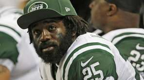 New York Jets running back Joe McKnight during