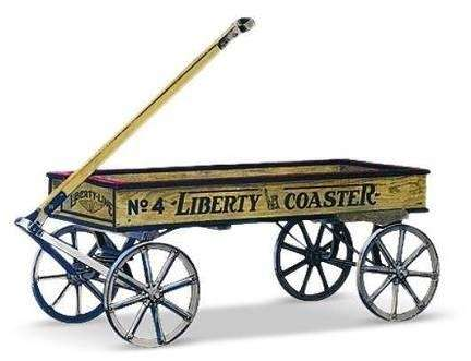 The No. 4 Liberty Coaster from Radio Flyer