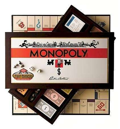 Monopoly was compelling during the Depression and was