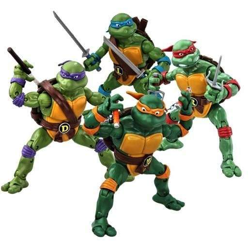 The first collection of Teenage Mutant Ninja Turtles