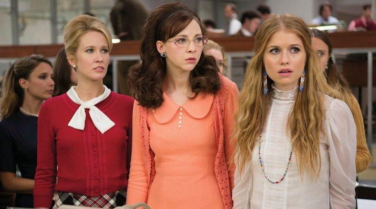 Anna Camp, Erin Darke and Genevieve Angelson star