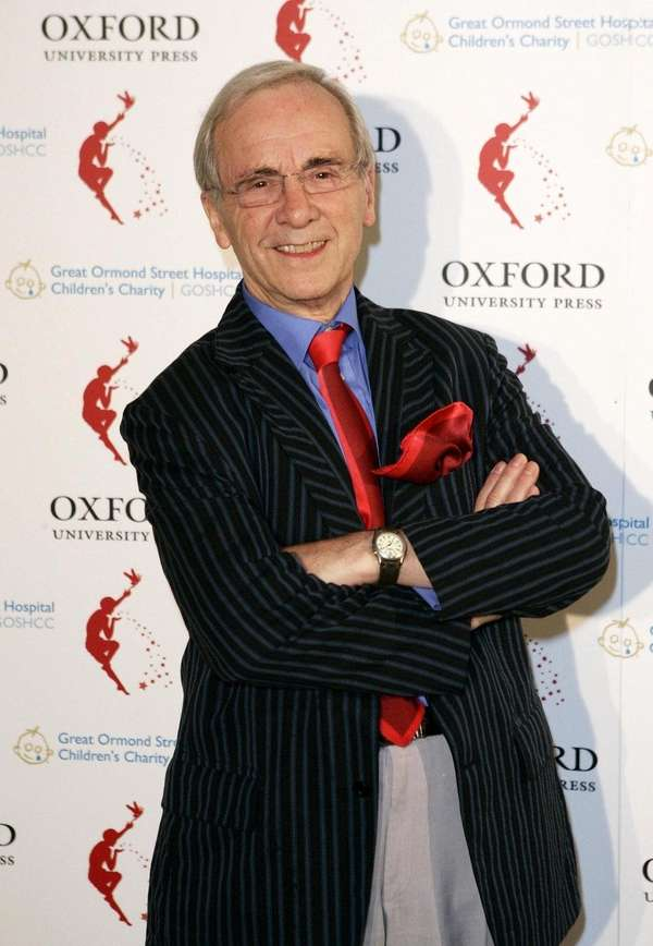 Andrew Sachs arriving at Kensington Palace in London