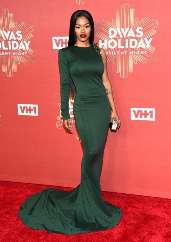 Teyana Taylor attends VH1 Divas Holiday:
