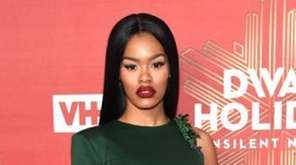 Teyana Taylor attends VH1 Divas Holiday: