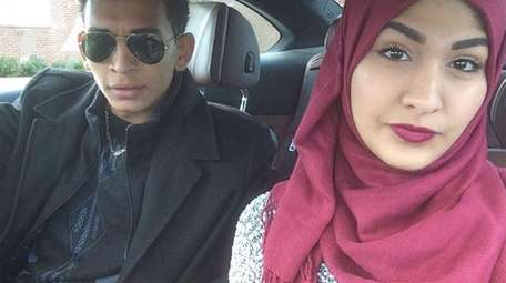 Yasmin Seweid, 18, seen in a photo with
