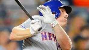 Some rival executives believe Jay Bruce, above homering