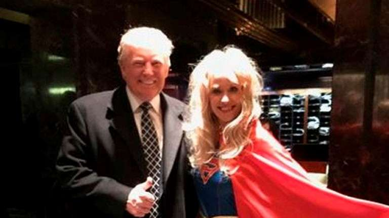 A screen grab showing Kellyanne Conway and President-elect