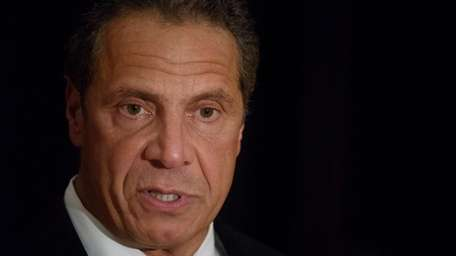Gov. Andrew M. Cuomo is shown in this
